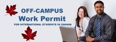 On And Off Campus Work Permit