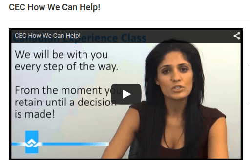 CEC How We Can Help Video