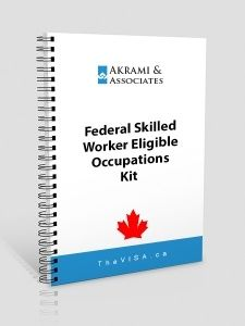 Federal Skilled Worker Eligible Occupations Kit
