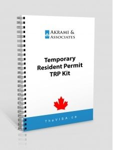 Temporary Resident Permit TRP Kit
